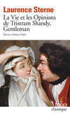 Cover Vie et Opinions de Tristram Shandy